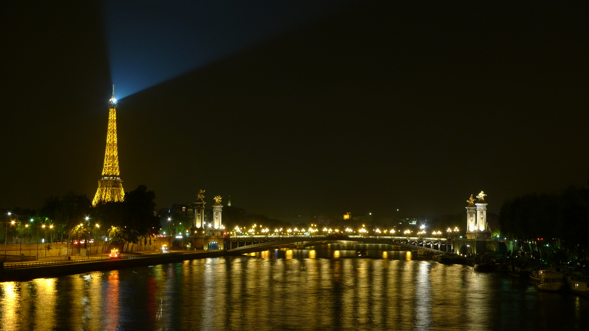 Enchanting Paris by night