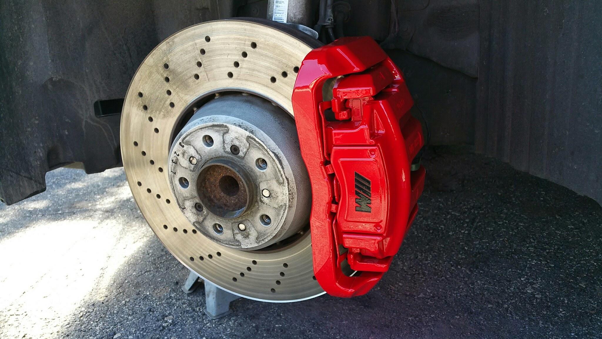 Brake Caliper Painting Temecula California Wheel Repair Xpress