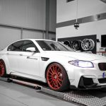 Bmw M5 F10 Wheels Artform Af 401 Wheels Candy Red