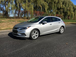 Sportier than a crossover, more versatile than a compact, the new Chevy Cruze Hatch makes up for what it lacks under the hood with a stylish cabin loaded with technology. (Robert Duffer/Chicago Tribune/TNS)