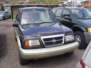 Suzuki Sidekick Sport 1998 - 4 door