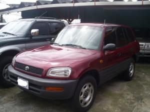 4 door Toyota RAV4 used car for sale in Costa Rica