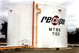 RECOPE storage tanks