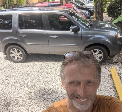 Honda Pilot in Tamarindo