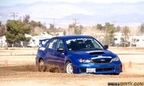 Subaru WRX rallyx