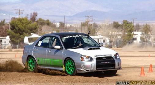 Subaru STI rally