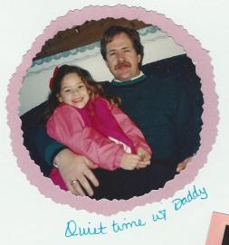 Amanda & Dad-Mar 94