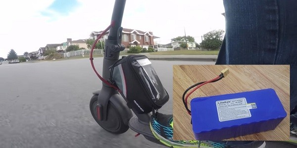 Add Another Battery to Electric Scooter