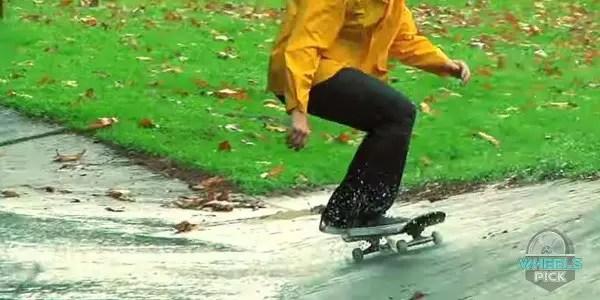Avoid Skateboarding in the Rain
