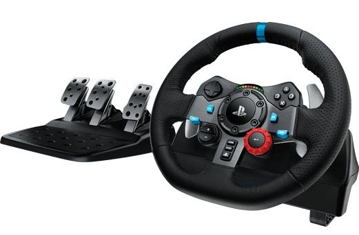 Logitech G29 Force Feedback Racing Wheel - Full Product