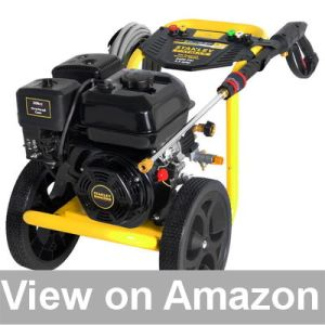 Stanley FATMAX 3400 psi 2.5 GPM Gas Pressure Washer Powered Review