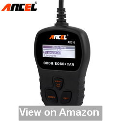 ANCEL AD210 OBD II Car Code Reader Review