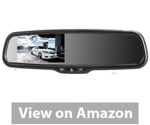 AUTO-VOX LCD Auto Adjusting Brightness Car Rearview back up Mirror Monitor Screen Review