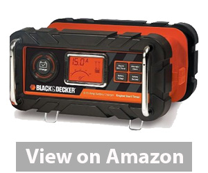 Best Car Battery Charger - BLACK+DECKER BC15BD Battery Charger Review