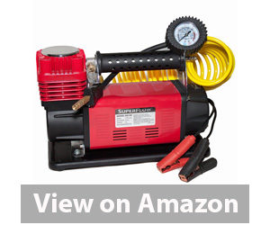 Best Tire Inflator - SuperFlow 12V HD Air Compressor Tire Inflator review