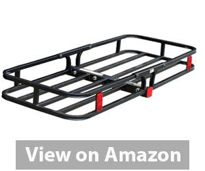 Best Hitch Cargo Carrier - MaxxHaul 70107 Hitch Mount Compact Cargo Carrier review