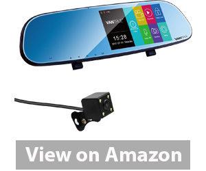 Best Rear View Camera - Vantrue N3 Dual Dash Cam Rearview Mirror Backup Camera Review