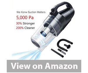 Holsea Portable Handheld Vacuum Cleaner for Car Review