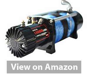 X-BULL 12V Synthetic Rope Electric Winch 13000 lb Review