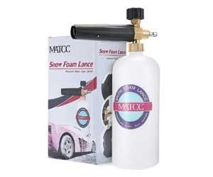 MATCC Adjustable Foam Cannon 1 Liter Bottle Snow Foam Lance With 1/4 Quick Connector Review