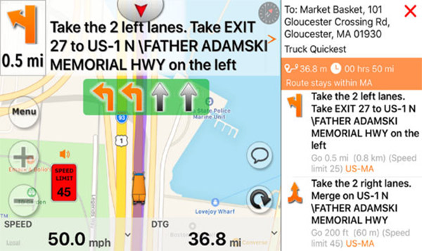 Top 7 Truck GPS For Android