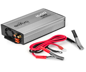 Bravo View INV-1600U - 1600-Watt Power Inverter with Dual USB Charging Review