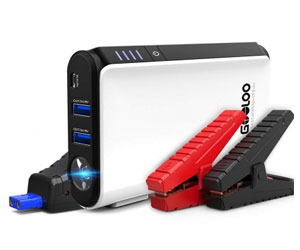 GOOLOO GP80 Quick Charge in & Out 500A Peak SuperSafe Car Jump Starter Review