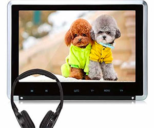 NAVISKAUTO,10.1 Headrest DVD Player for Kids (Use Both in Car or at Home) Review