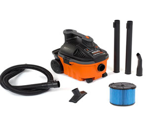 Ridgid WD4070 4 Gallon Portable Vacuum Review