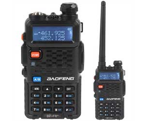 BaoFeng BF-F8HP (UV-5R 3rd Gen) 8-Watt Dual Band Two-Way Radio, Includes Full Kit Review