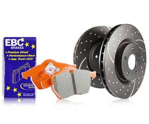 EBC Orangestuff 9000 Series Race Brake Pads Review
