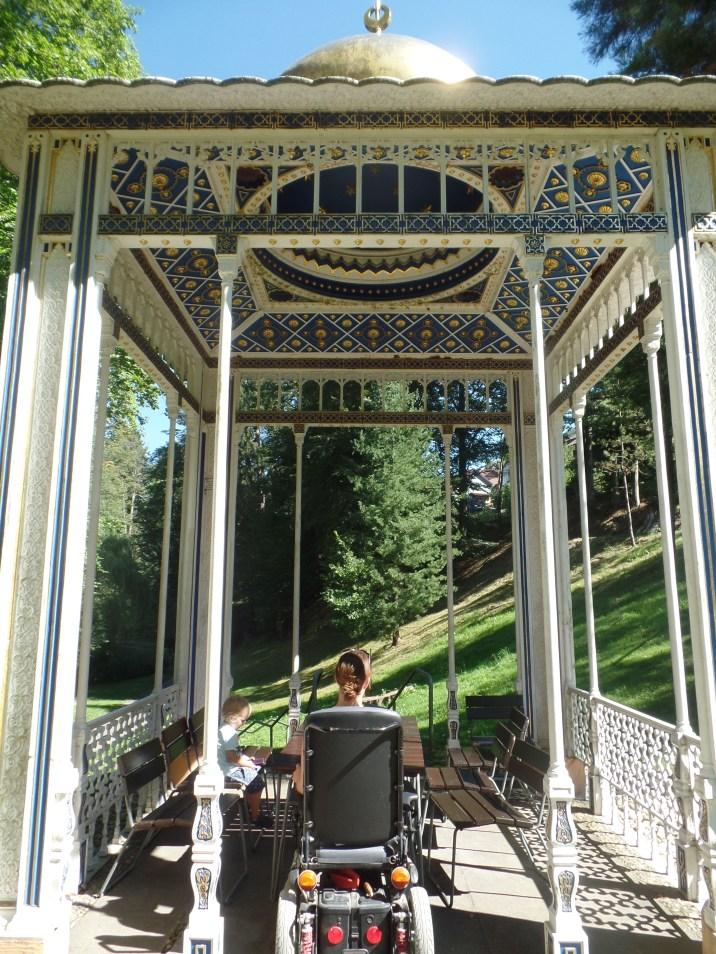Ein traumhafter Pavillion mitten im Park