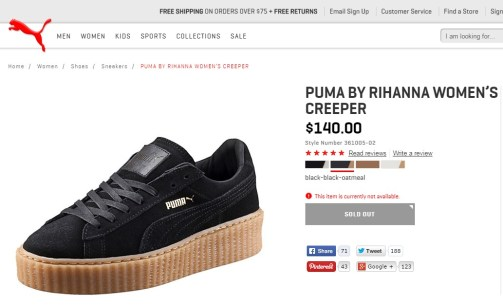 Puma Creepers - by Rihanna