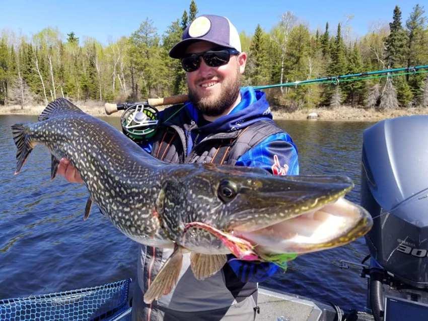 Flyfishing Pike