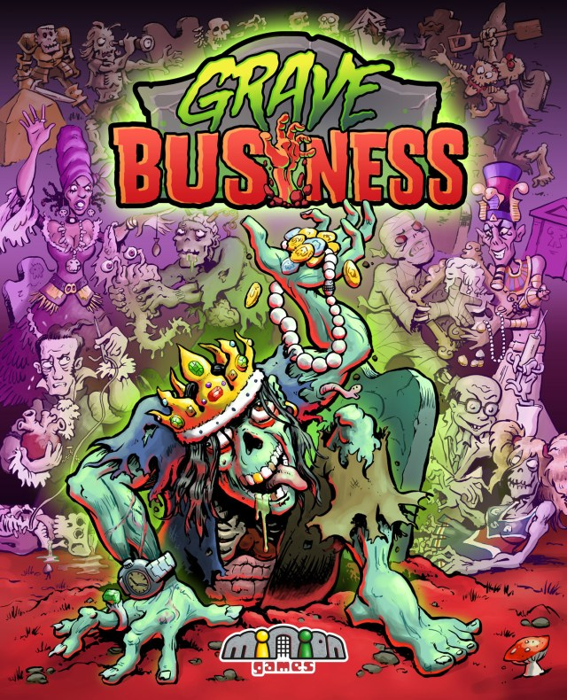 Grave Business Cover Art