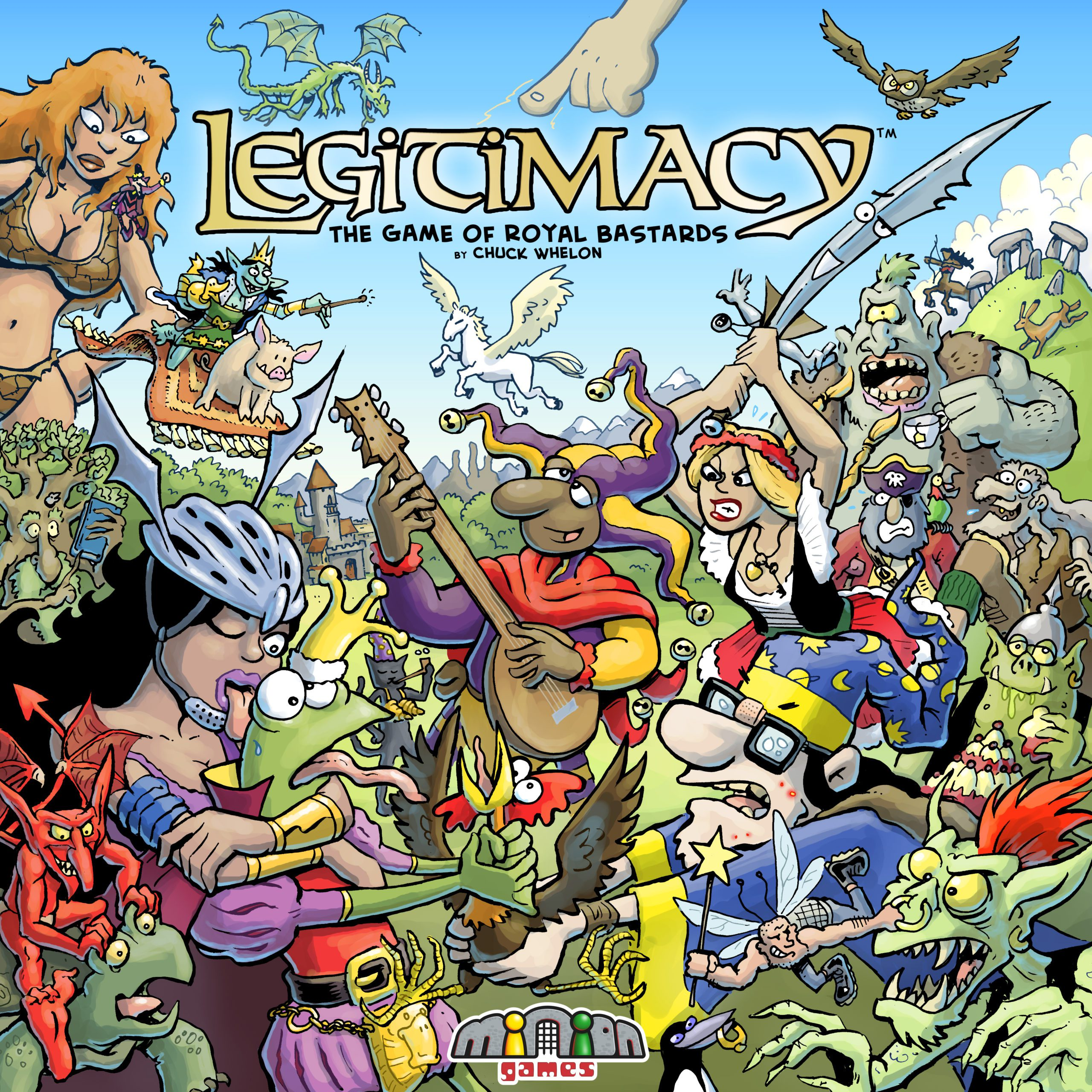 Legitimacy Boardgame Box Cover Art
