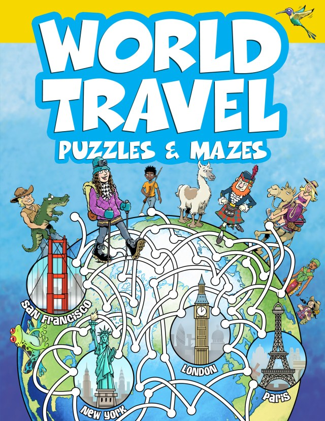 Word Travel Puzzles and Mazes Cover