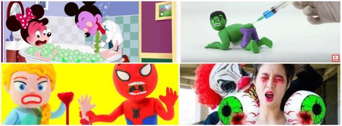 Disturbing youtube videos for kids