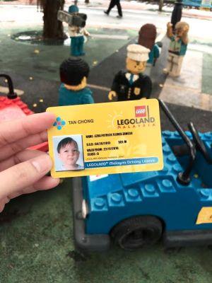 legoland drivers license