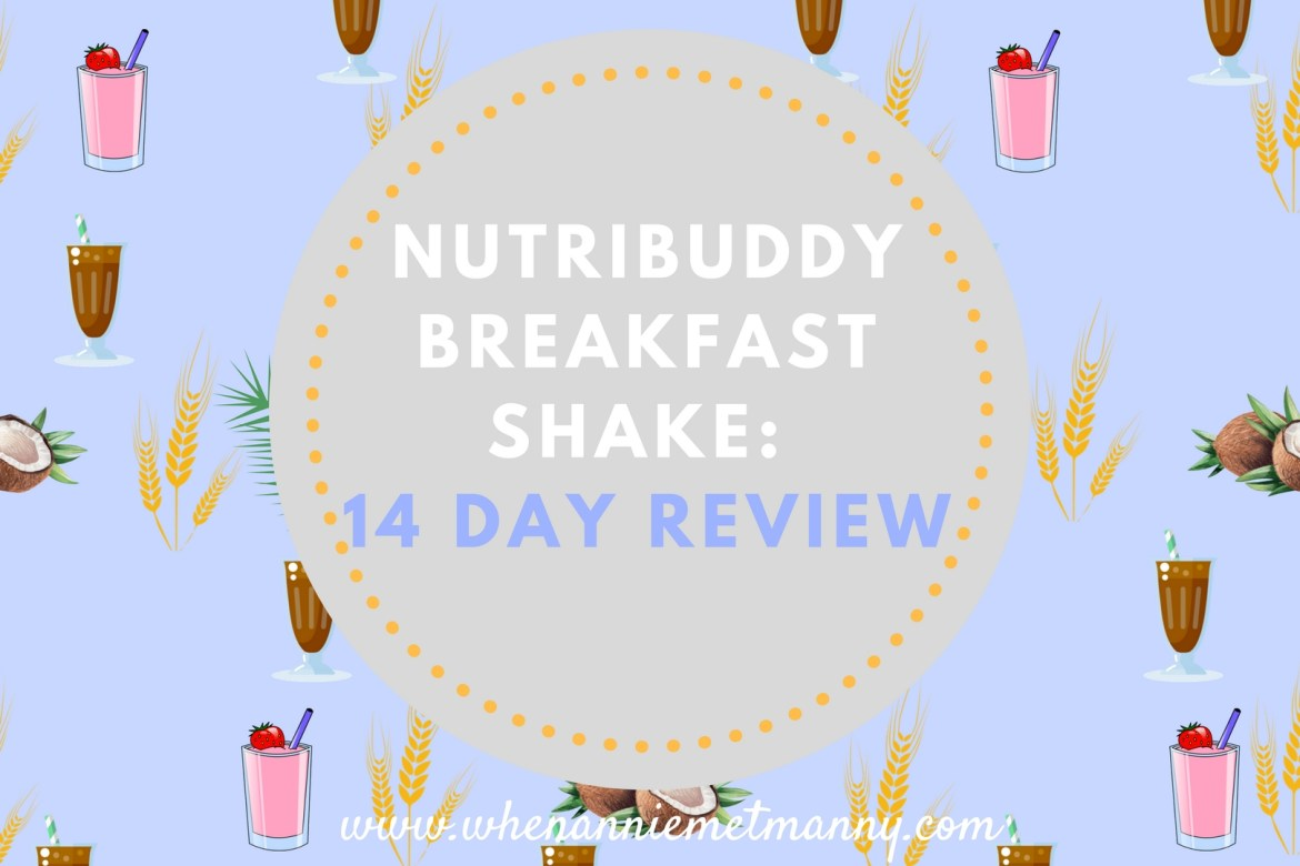 Nutribuddy Breakfast Shake