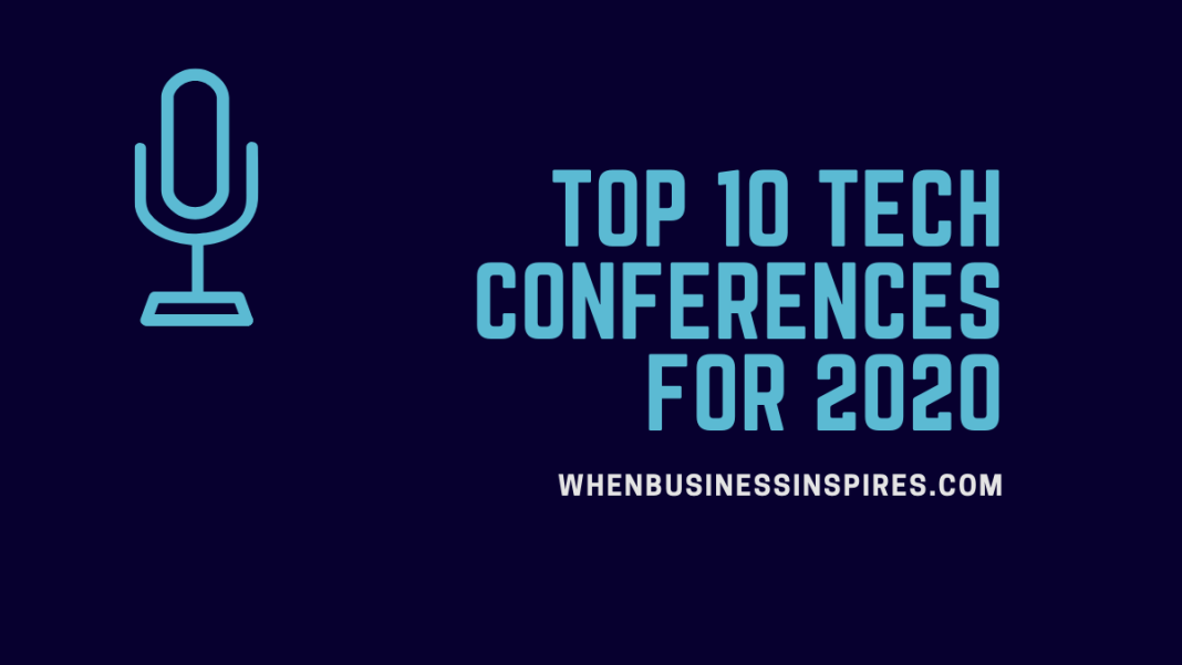 Tech conferences for 2020