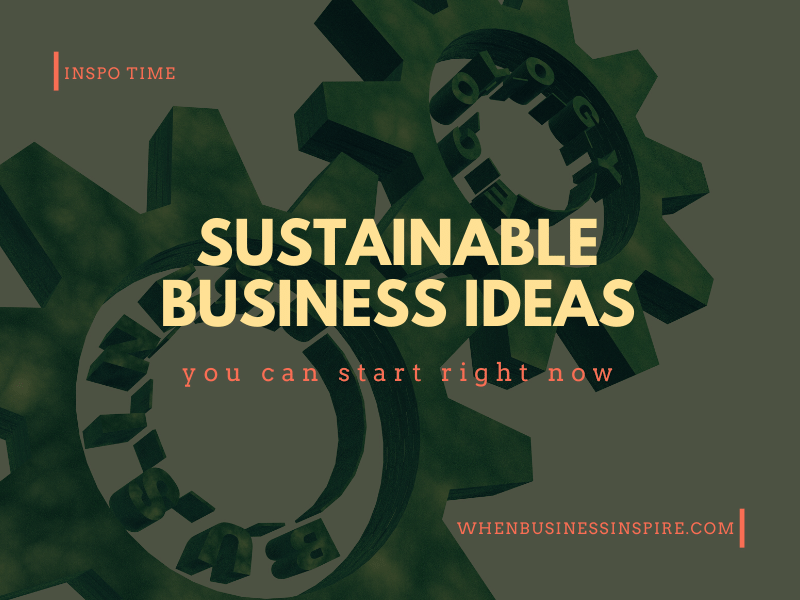 Best green business ideas