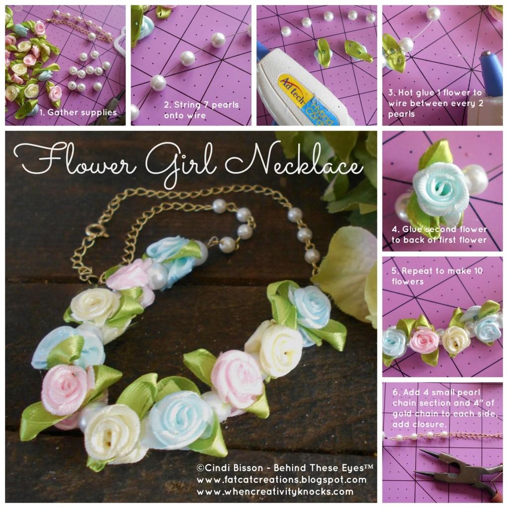 Flower Girl Necklace How