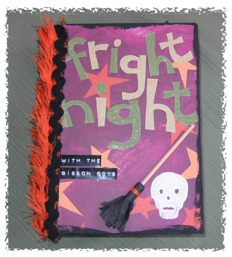 Fright Night Halloween Photo Book