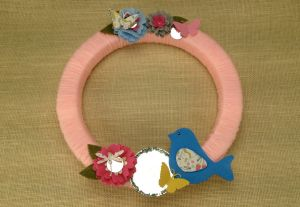 Secret Garden Wreath
