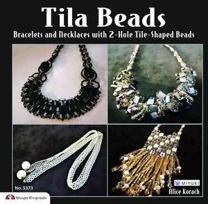 Tila Beads - Bracelets & Necklaces with 2-Hole Tile-Shaped Beads