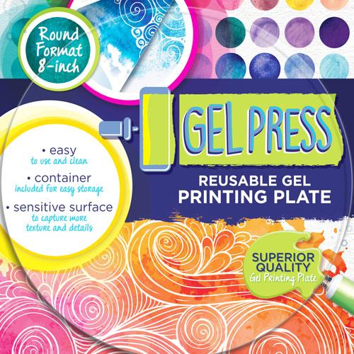 Gel Press Printing Plates