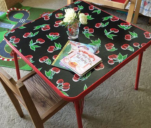 upcycled table featured