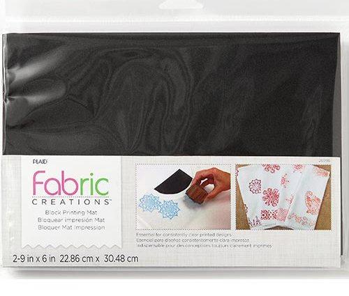 Plaid Fabric Creations Fabric Mat
