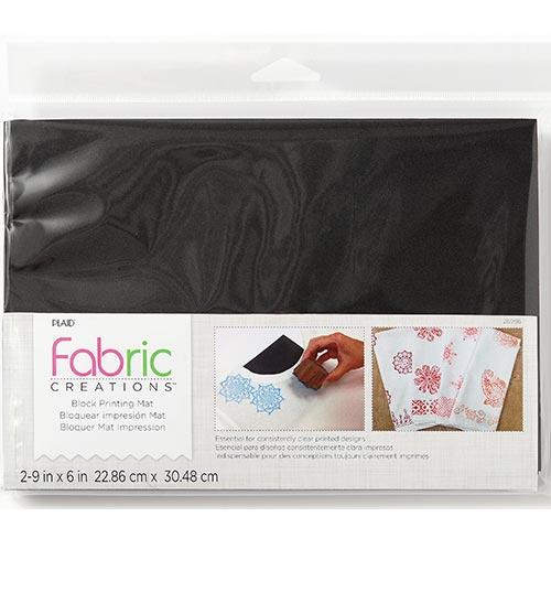 Plaid Fabric Creations Foam Printing Mat